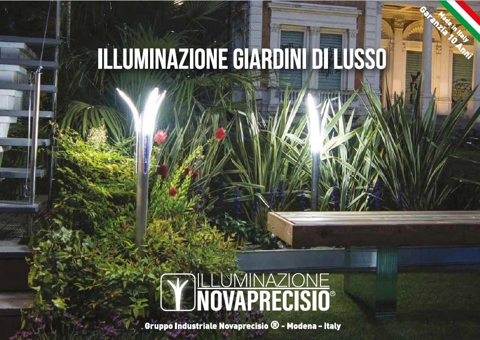 Copertina Catalogo Lampioni da Giardino