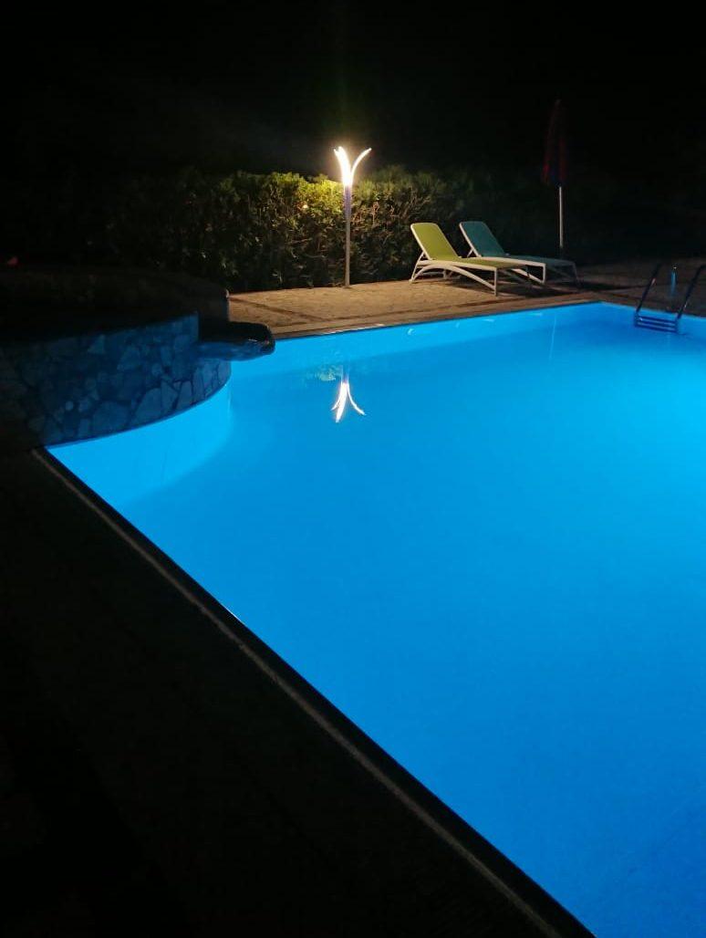 Lampione Giardino LED Illuminazione Bordo Piscina