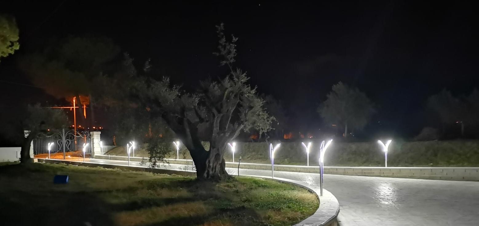 Idee Per Illuminare Un Giardino illuminazione vialetto led con lampioni giardino di design